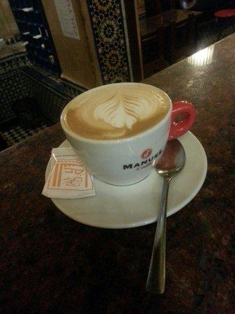 Cafe Clock: Caffè cream