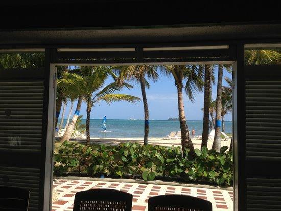 Decameron Marazul: vista desde el hotel