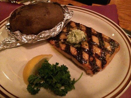 Hickory House: The Meal Alaskan Salmon