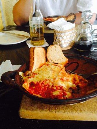 Mamma Mia : Meat lasagna