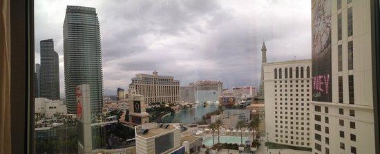 Planet Hollywood Resort & Casino : Gloomy morning