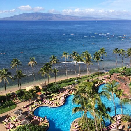Hyatt Regency Maui Resort and Spa: gorgeous views from the balcony!