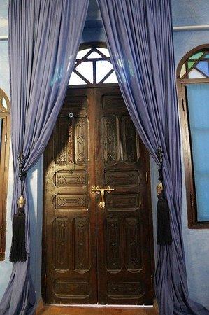 The Repose : Door of Bedroom