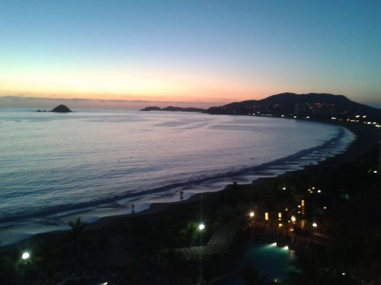 Barcelo Ixtapa : la vista desde el hotel