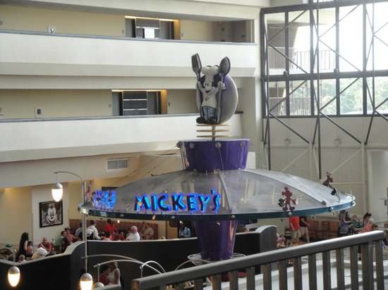 Chef Mickey's: fachada do restaurante