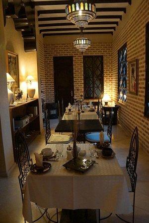 Riad Soleil d'Orient : Dining Area