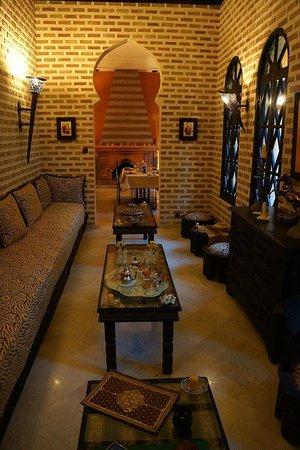 Riad Soleil d'Orient : Lounge