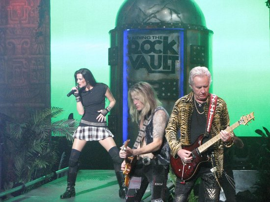Raiding The Rock Vault: This represents the music of a generation ... Played by the artist who made it!!!