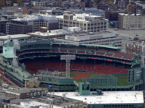 Skywalk Observatory: View of Fenway Park