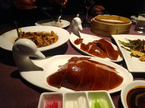 Duck De Chine : the main reason to eat here!