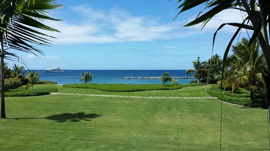 Four Seasons Resort Nevis, West Indies : View from room