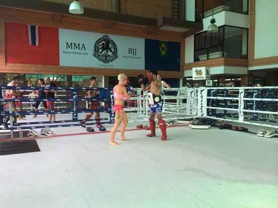 Fairtex Sports Club Hotel : Muay Thai Boxing