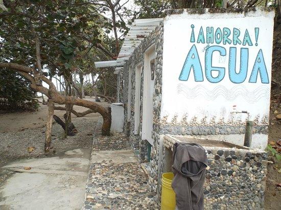 Playa Los Angeles: Les toilettes pour les campeurs