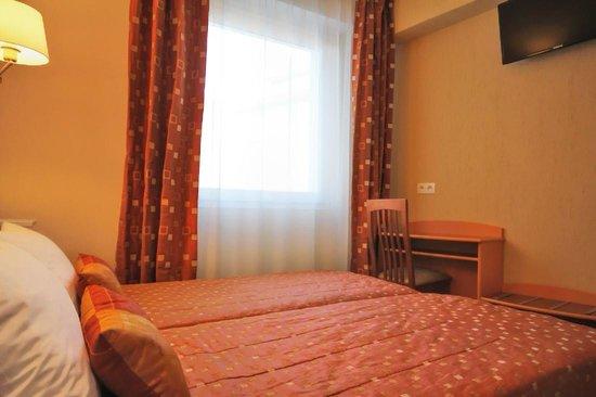 Hotel Atlantic: Chambre twin