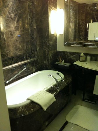 Shangri-La Bosphorus, Istanbul: The elegant bathroom
