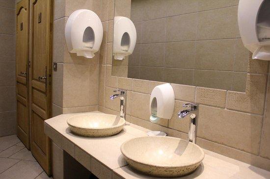 Hotel Atlantic: Toilettes