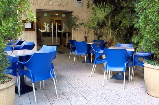 Hotel Atlantic: Terrasse