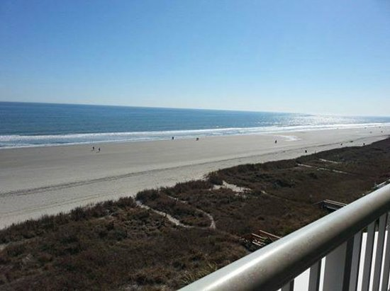 Wyndham Vacation Resorts Westwinds : Oceanfront View Westwinds Myrtle Beach