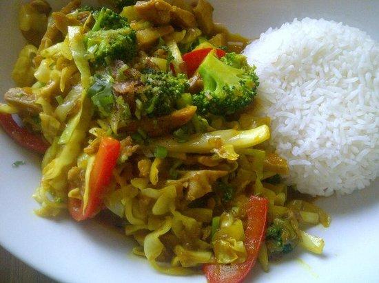 Pho Sate Restaurant: Chicken Curry