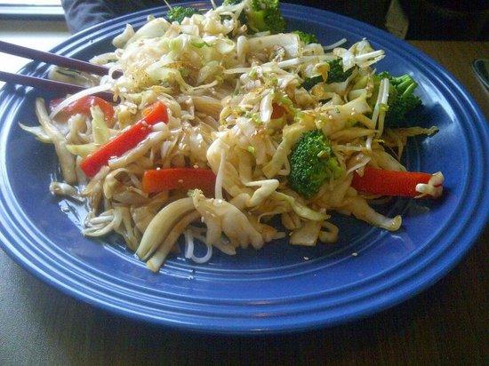 Pho Sate Restaurant: Vegetable Stir-Fry