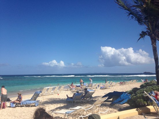 The Westin Dawn Beach Resort & Spa, St. Maarten: Gorgeous beach sand like silk