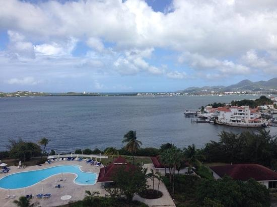 The Towers at Mullet Bay : Main balcony view #805