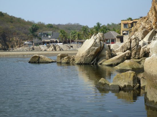 Aventura Mundo : getting to Bocana beach at the end of the raft tour