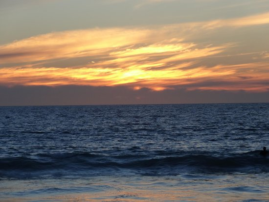 Beach Manor Bed and Breakfast Perth: Sunset