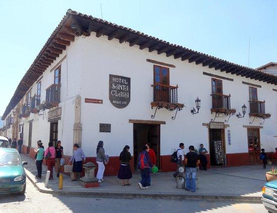 Santa Clara: Historic building on the Zocalo