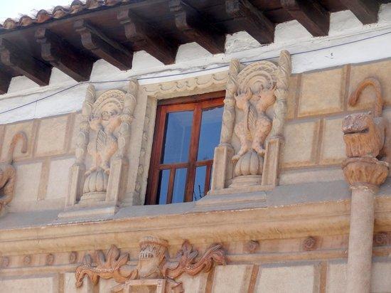 Santa Clara: Mermaids ...16th century surrounding a hotel window.