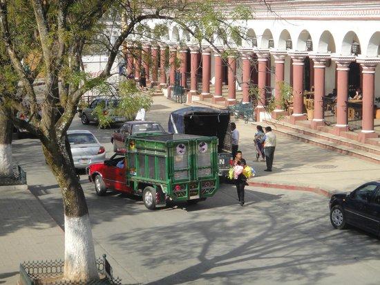 Santa Clara : View from the balcony