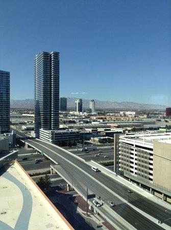 ARIA Resort & Casino: view from the corner suite