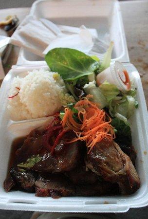 Dean's Drive-Inn: Teriyaki pork (small size)