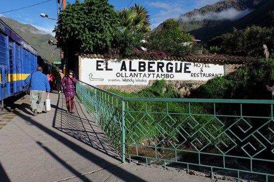 El Albergue Ollantaytambo: Walk to hotel