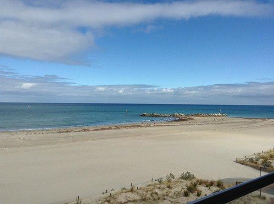 Oaks Plaza Pier Apartment Hotel: View of Glenelg Beach