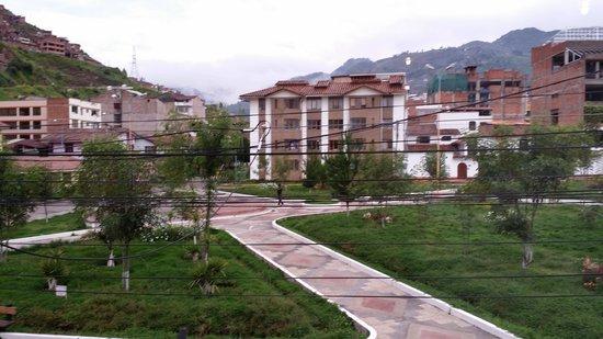 Hotel Torre Dorada : view