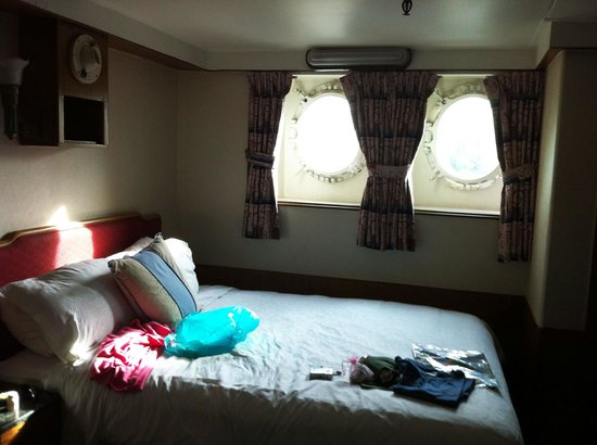 The Queen Mary: Our Bedroom