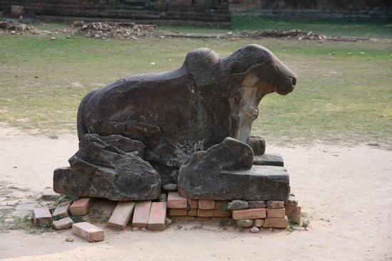 Preah Ko: Statue of the Sacred Cow