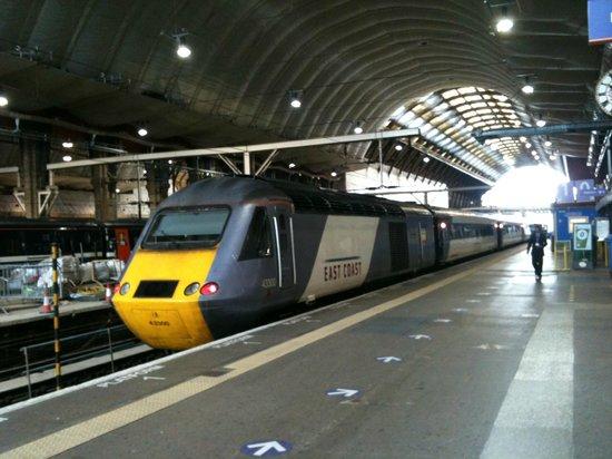 St. Pancras International Station: Platform