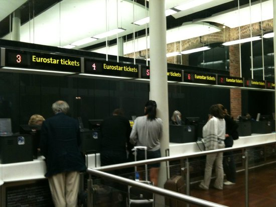 St. Pancras International Station: Ticketing