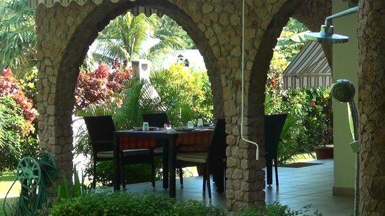 Villa Gaiarda : zona colazione