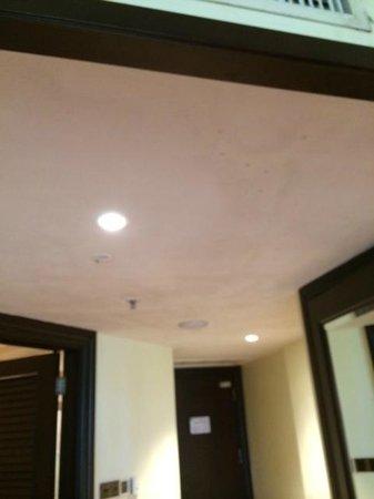 Nexus Resort & Spa Karambunai : Irritated ceiling