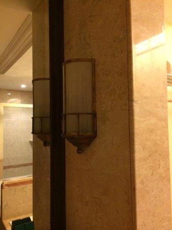 Nexus Resort & Spa Karambunai: Light not working