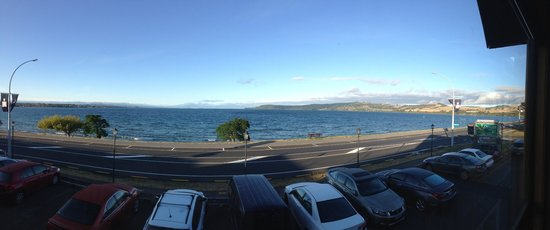 Wellesley on the Lake Taupo: View from restaurant