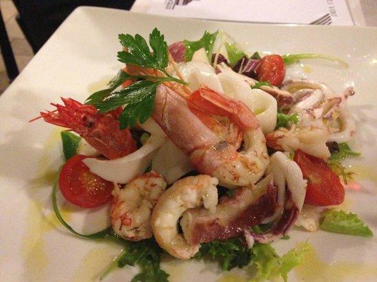 Vecio Macello: Seafood salad