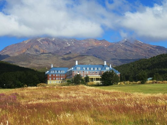 Chateau Tongariro Hotel : Amazing setting!