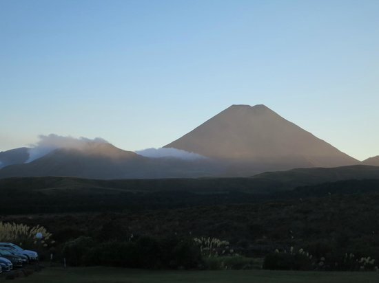 Chateau Tongariro Hotel : The view from the hotel