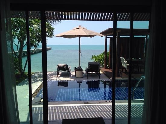 InterContinental Samui Baan Taling Ngam Resort: Blick aus Villa #511