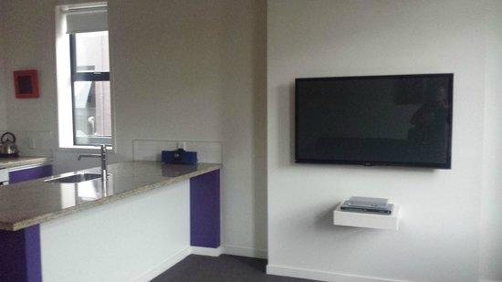 315 Euro Motel: Lounge / Kitchen