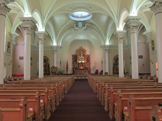 St. Mary's Basilica: When you walk in...